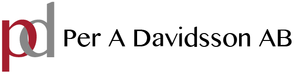 Per A Davidsson AB Logotyp